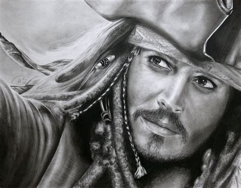 captain jack sparrow by stars art on deviantart