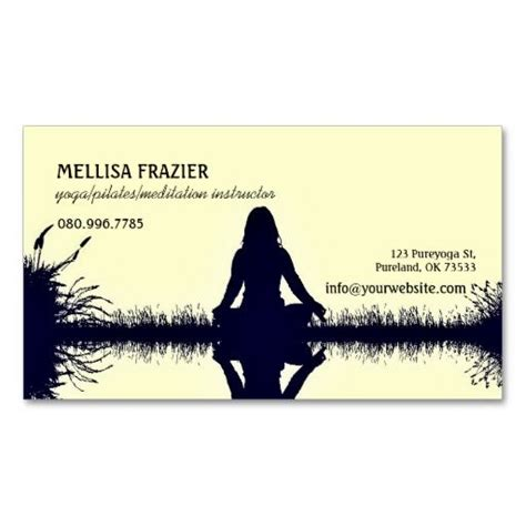pilates business cards templates 280 best images about instructor business cards on