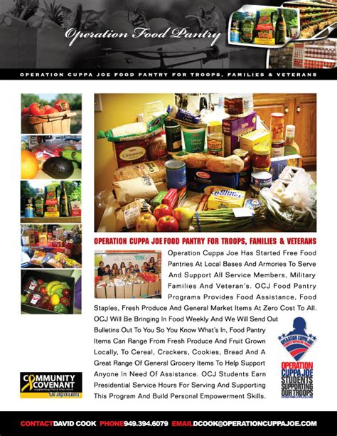 Food Pantry Jackson Mi by Operation Cuppa Joe Partners With Usps On Canned Food