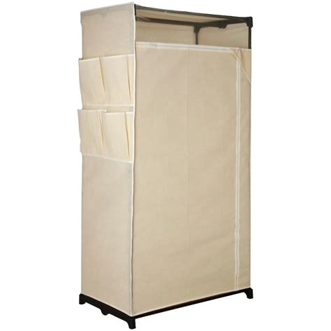 portable fabric wardrobe organizer closet clothes garment