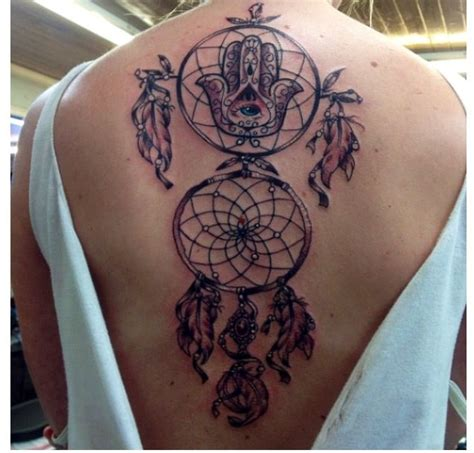dreamcatcher tattoos on back 40 dreamcatcher tattoos on back