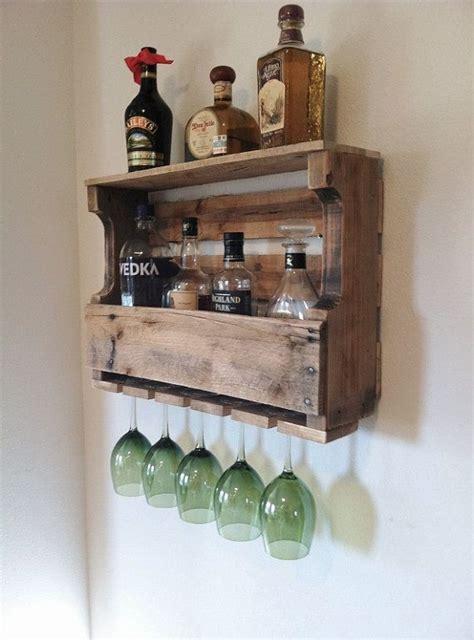 Liquor Rack by Rustic Wine Rack Wide Liquor Rack Medium Width