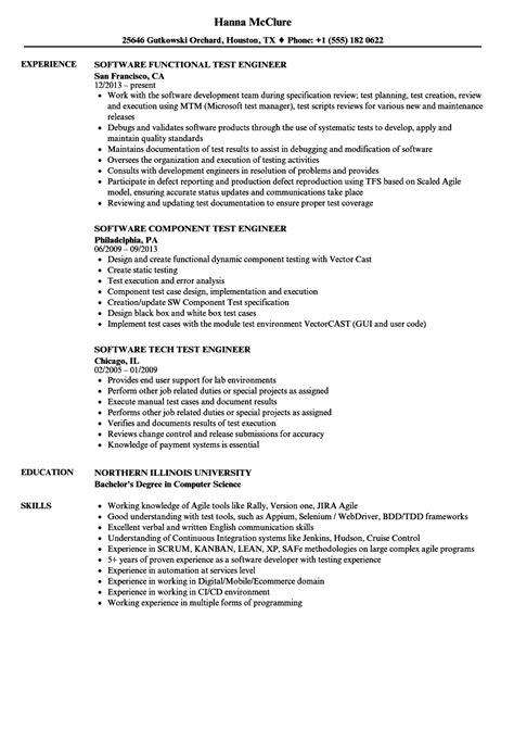 lead test engineer sample resume 3 software test engineer resume