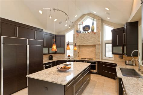 contemporary kitchen cabinets chicago kitchens contemporary kitchen chicago by bradford