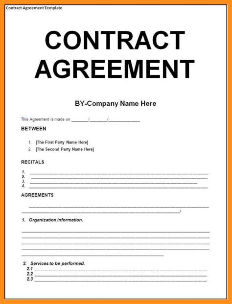 Agreement Letter Between Two Companies 9 sle agreement between two agenda exle