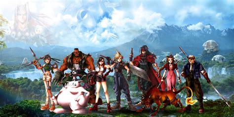 alex  design final fantasy vii wallpaper