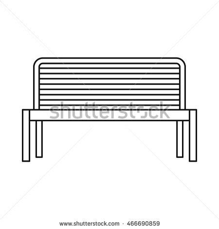 bench outline stock photos royalty free images vectors shutterstock