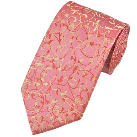 pink paisley patterned s tie from ties