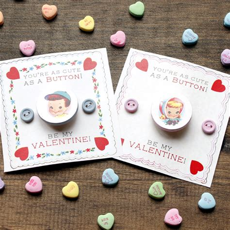 7 adorable diy for valentine s day eatwell101 cute as a button valentine diy the graphics fairy