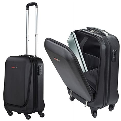 4 wheeled cabin luggage swisscase pro business traveller 20 quot abs 4 wheel cabin