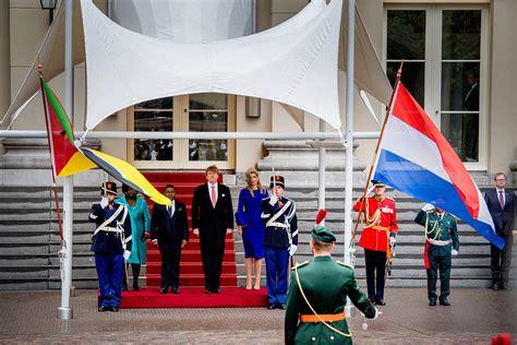 programma koninklijk huis officieel bezoek president mozambique programma