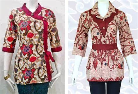 Fn Vistasari Murah Wanita Baju Grosir Modern 100 gambar contoh baju batik seragam kantor dengan 23