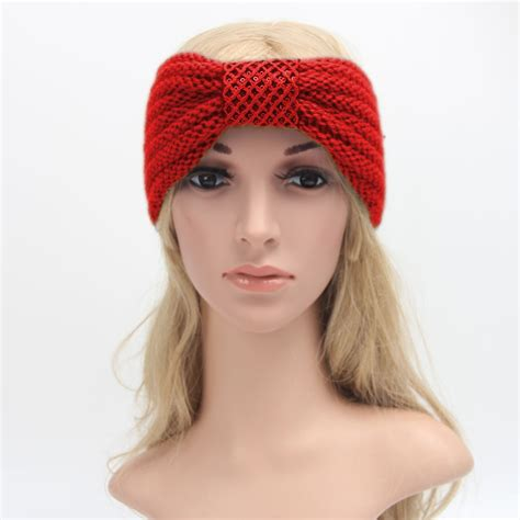 23 colors knitted turban headbands for winter warm popular knitted headband buy cheap knitted headband lots