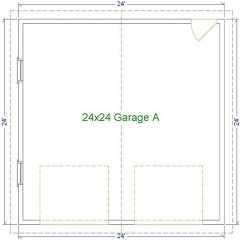 dimensions of a two car garage dimensions standard 2 car garage images