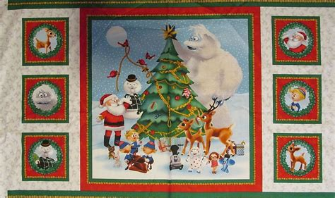 Quilting Fabric Panels by Quilting Treasures Fabric Rudolph And Friends Panels Ebay