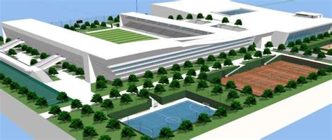 sports complex  skp full project  sketchup designs cad