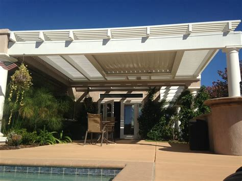 equinox moving louvered system adjust how much sun or