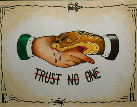 trust no one tattoos mudwerks the lesson in and software