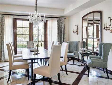 mirror  dining room placement large mirrors  decoration