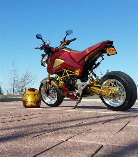 Honda Motorrad Grom by Iron Man Honda Grom Motorcycle Honda Grom Pinterest