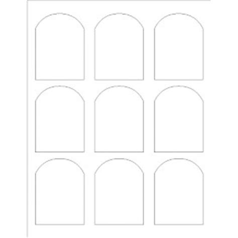 Templates Print To The Edge Arched Labels Avery Microsoft Publisher Label Templates