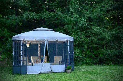 canopy backyard 27 gazebos with screens for bug free backyard relaxation
