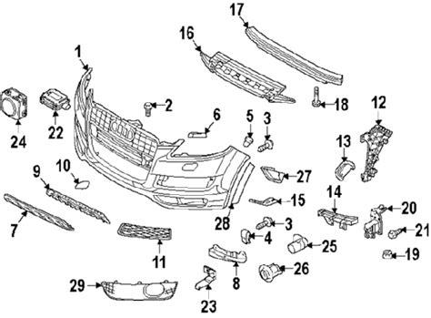 audi q7 parts diagram 2015 audi q7 parts genuinevwaudiparts