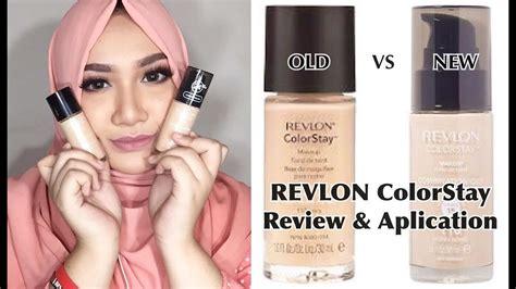 Foundation Revlon Indonesia vs new revlon colorstay foundation review