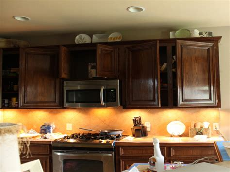 Can You Stain Kitchen Cabinets by Steps Applying Gel Stain Kitchen Cabinets Home Ideas
