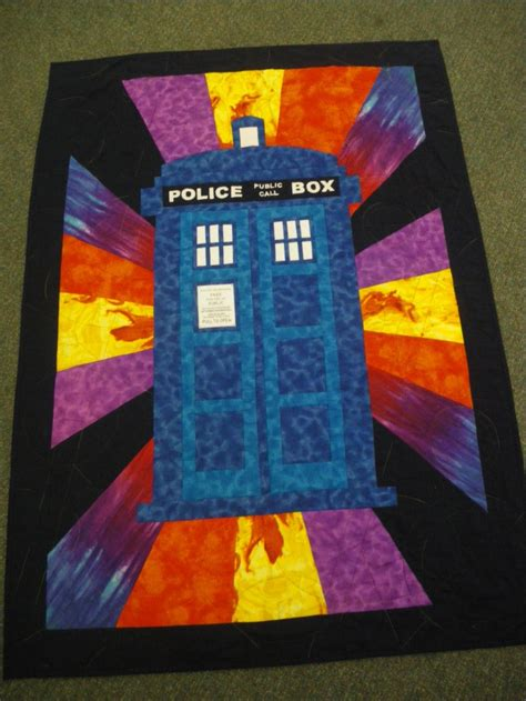 Tardis Quilt Block by 1000 Ideas About Tardis Quilt Pattern On