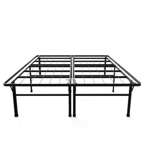 high platform bed frame priage 18 inch high profile smartbase black platform bed frame king by priage best