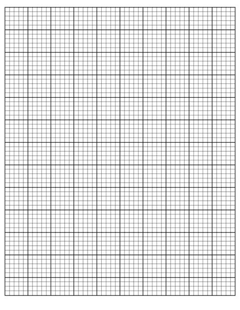 How To Make Grid Paper - 30 free printable graph paper templates word pdf