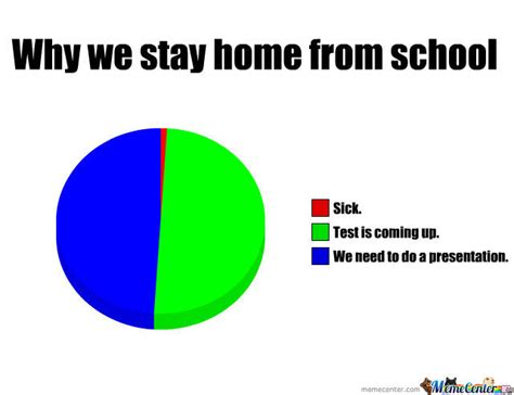 reasons why we stay home from school by