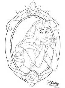 disney princess aurora coloring page crayola com