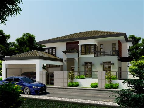 Two Storey House Inspriational Double Storey Residential House Amazing