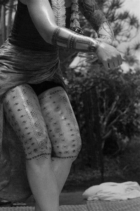 tribal samoan tattoos  men women ultimate guide