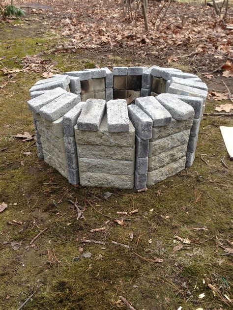 home depot brick pit you will need 32 of the rumble stones and 48 of the mini
