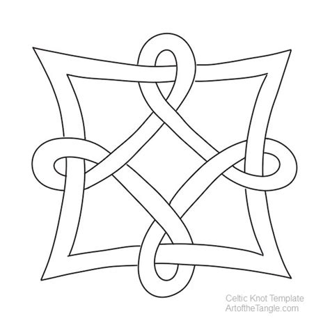 celtic knot template celtic knot templates of the tangle