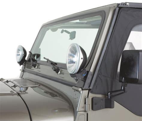 Jeep Wrangler Light Mounts 7321 Kc Hilites Windshield Bracket Light Mount Jeep Cj