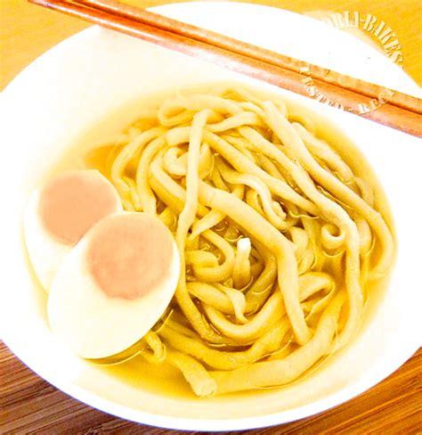 Handmade Udon Noodles - udon noodles