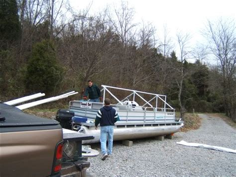 pontoon boat cover winter winter cover solutions pontoon boat deck boat forum