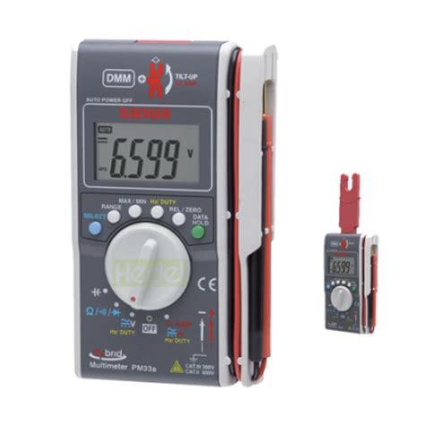 Multimeter Hybrid sanwa pm33a hybrid digital multimeter