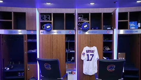 cubs locker room chicago cubs locker assignments interactive chicago tribune