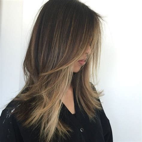 choppy medium bobs for straight and thin hair 44 best long straight layered hairstyles images on