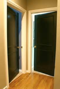 Painted Interior Doors by Dimples And Tangles Black Interior Doors