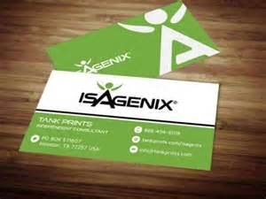 isagenix business cards isagenix business card design 6