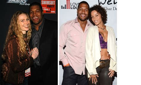 michael strahan and his wife michael strahan s journey from football star to kelly ripa