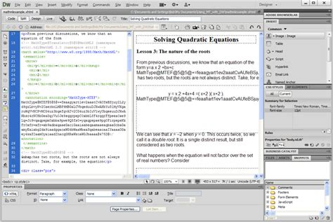html5 extension in dreamweaver cs5 tutorial adobe dreamweaver cs6 free download software