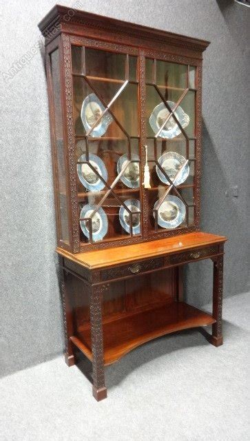 Antique Chippendale Display Cabinet Chippendale Mahogany Display Cabinet Antiques Atlas