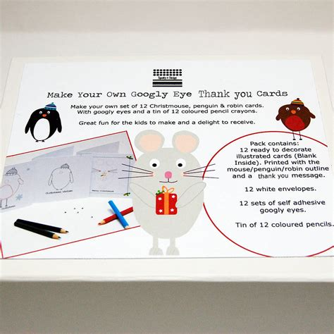 make your own thank you cards make your own googly eye thank you cards by spotty n